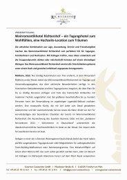 Weinromantikhotel Richtershof_PM_ Tagen&Feiern mit Hochzeit