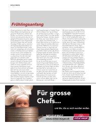 Gastkolumnist Kurt Waldvogel über gastronomische