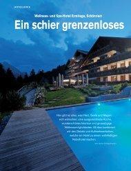 Das Wellness- und Spa-Hotel Ermitage in Schönried