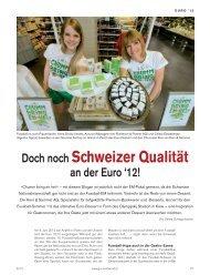 Doch noch Schweizer Qualität an der Euro '12!