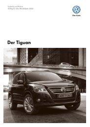 Der Tiguan - Autohaus Perski ohg