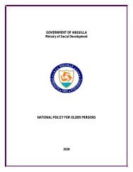 National Policy For Older Persons - Government of Anguilla