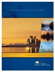 Asia Pacific Initiative - Government of British Columbia
