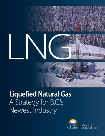 Liquefied Natural Gas A Strategy for BC's Newest Industry
