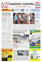 Steine sollen laufen lernen epaper Osnabrücker Nachrichten