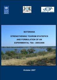 Tourism Statistics - Government of Botswana