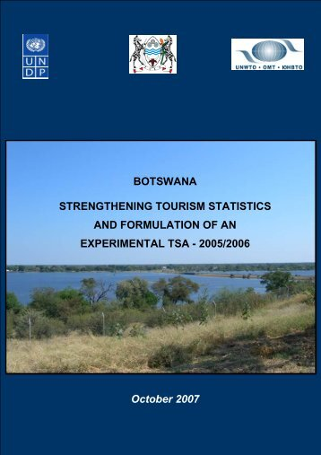 Tourism Statistics - Government of Botswana