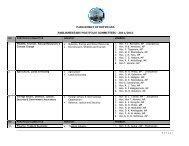 parliame parliament of botswana entary portfolio committees – 2011 ...