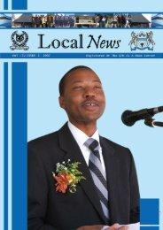 Newsletter Vol II Issue 1 2007 - Government of Botswana
