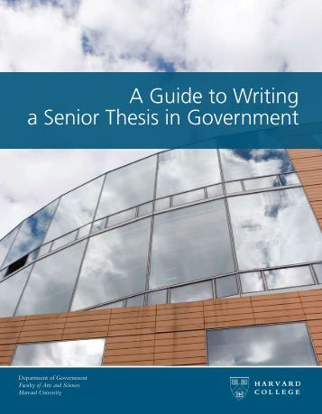 Guide to writing a dissertation proposal