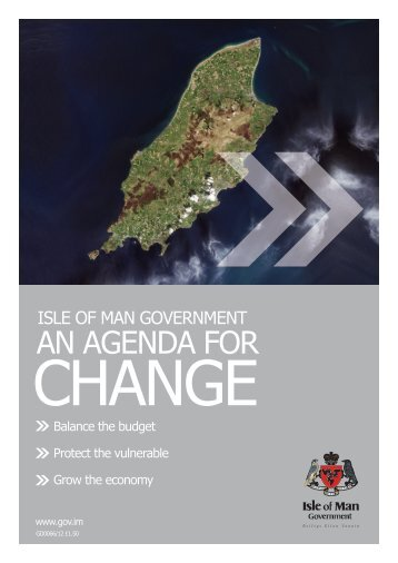 Agenda for Change - Isle of Man Government