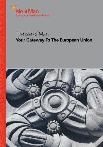 Isle of Man - Gateway to Europe - Isle of Man Government