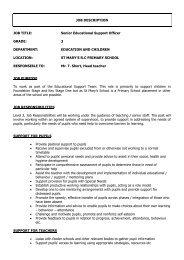 Job Description - Isle of Man Government