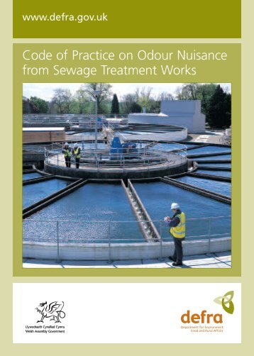Code of Practice on Odour Nuisance from Sewage ... - Gov.uk