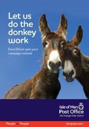 Door2Door Leaflet - Isle of Man Government