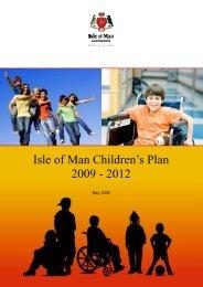 Children's Plan 2009-2012 - Isle of Man Government