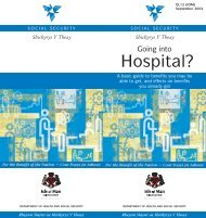 GL12(IOM) - Going into Hospital ? - Isle of Man Government