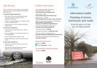 Flooding Information Leaflet - Isle of Man Government