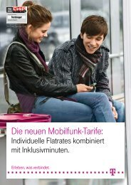 Mobilfunk Privatkunden
