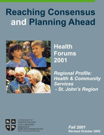 Health & Community Services - St. John's Region - Government of ...