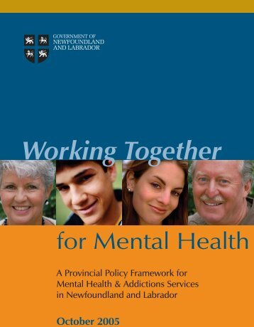 Working Together for Mental Health - Government of Newfoundland ...