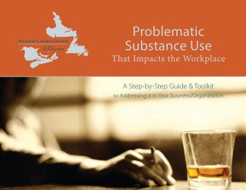Problematic Substance Use - Government of Newfoundland and ...