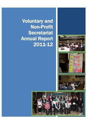 VNPS Annual Report 2011-12 - Government of Newfoundland and ...
