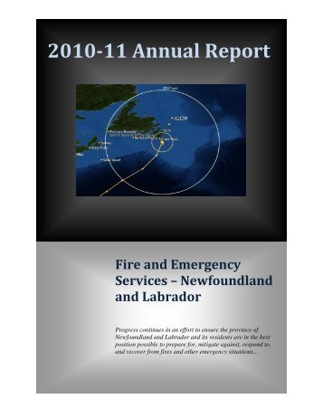2010-11 Annual Report - Government of Newfoundland and Labrador