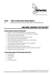 Melusine V-9002 Datasheet 110217 - Bachem