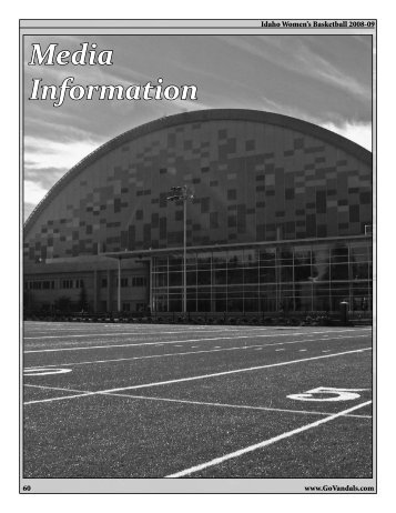 Media Information - University of Idaho Athletics