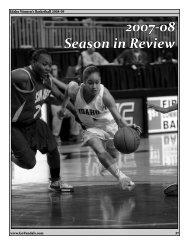 2007-08 Season in Review - University of Idaho Athletics