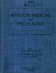 aviation medicine and psychology - Government Attic