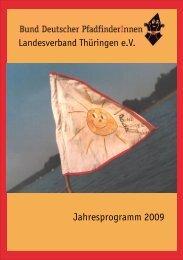 Jahresprogramm 2009 - Bund Deutscher PfadfinderInnen