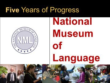 Introduction to National Museum of Language. - ILR