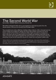 The Second World War - Ashgate