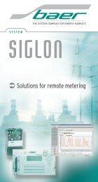 SIGLON brochure - Baer Gmbh