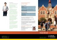 Study Abroad at Lincoln University brochure
