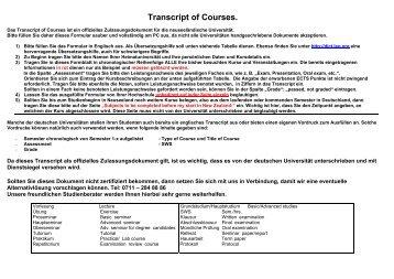 Transcript of Courses. - GOzealand