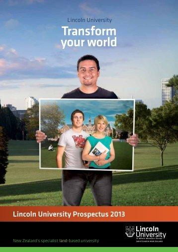 Prospectus - Lincoln University