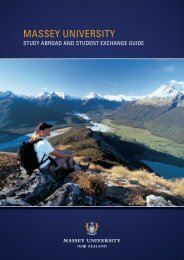 Study Abroad and student exchange guide - Massey University