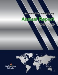 Annual Report 2009-10 - Government Purchasing Agency