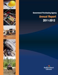 Annual Report 2011-12 - Government Purchasing Agency