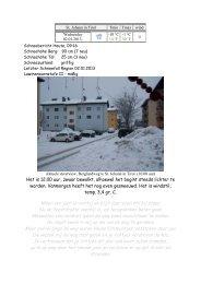 Dagboek januari 2013