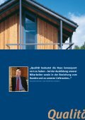 Broschüre Bauzukunft Holz - Wir schaffen Profil - Beinbrech - Seite 4