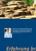 Broschüre Bauzukunft Holz - Wir schaffen Profil - Beinbrech - Seite 6