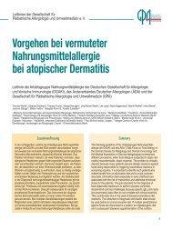 Download - Gesellschaft für Pädiatrische Allergologie und ...