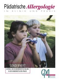 Asthma - Gesellschaft für Pädiatrische Allergologie und ...