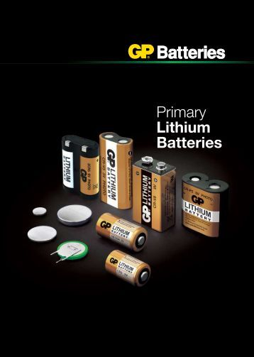 Primary Lithium Batteries - GP Batteries
