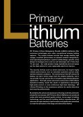 Primary Lithium Batteries - GP Batteries - Page 2