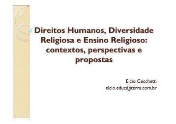 Direitos Humanos, Diversidade Religiosa e Ensino Religioso - GPER